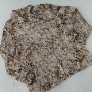 🌾3/$50🌾Handmade animal print blouse